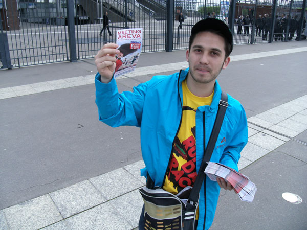 Distribution de flyers