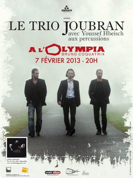 Le Trio Joubran à l'Olympia