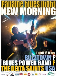 Paname Blues Night le 18 mars 2013 au New Monrming