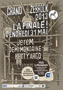 Finale du Grand Zebrock 2013