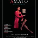 Affiche du spectacle d'Élisabeth Amato
