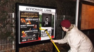 Affichage Libre