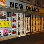 Affichage Sauvage pour BLK DNM, Vincent Moscato, Laurent Barat, Noemi Waysfeld et le Divan du Monde.