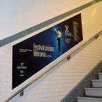 Le réseau des rampes géolocalisées du métro parisien