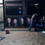 Campagne d'affichage teasing Mickeynnials devant Grand Lyon Métropole