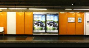 Réseau pub métro Marseille d'affichage dans le métro