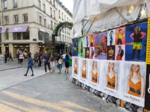 Poster campaign for the brand Les Petites and Antidote Magazine during a Paris Fashion Week