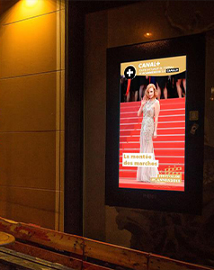 publicité DOOH (Digital Out-Of-Home)