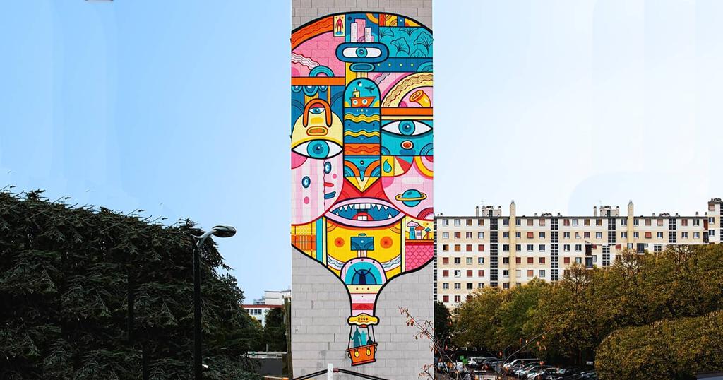 Pub street art par Pablito Zago