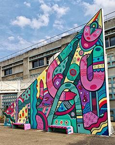 publicité street art Pablito Zago
